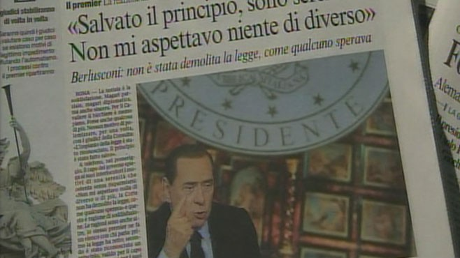 VIDEO: Italy?s prime minister accused of having sex with a teenage prostitute.
