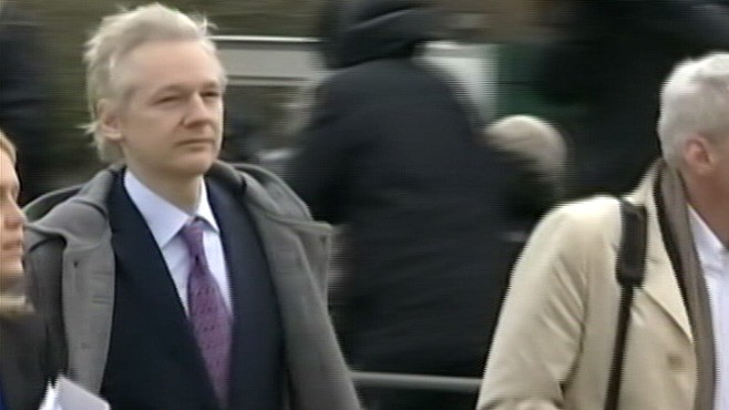 VIDEO: Julian Assange fights Swedish extradition bid over sex crimes in U.K. court.
