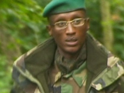 VIDEO: Congo Rebel leader Laurent Nkunda was apprehended by Rwandan troops.