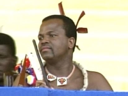 VIDEO: Obamas message to the Arab world, Swaziland royalty
