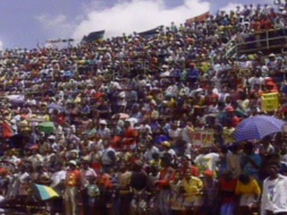 VIDEO: Nelson Mandelas hometown of Soweto, South Africa, celebrates his freedom.