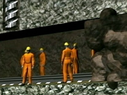 VIDEO: Government officials say it could take months to get the miners out.