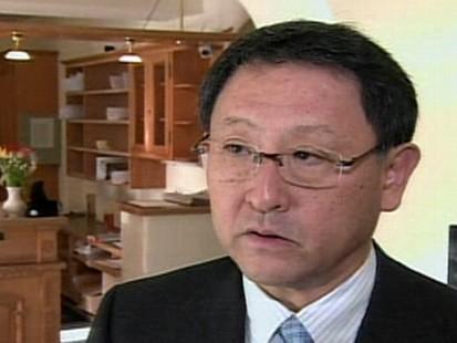 VIDEO: Akio Toyoda appears in Davos, Switzerland.