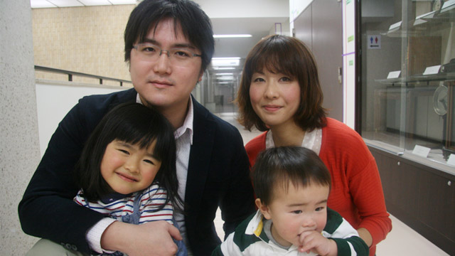 PHOTO: Dr. Takeshi Kanno and family