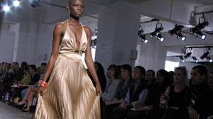Design by LIDIJA&DEJAN, finalist at Fashion Fringe Covent Garden 2009