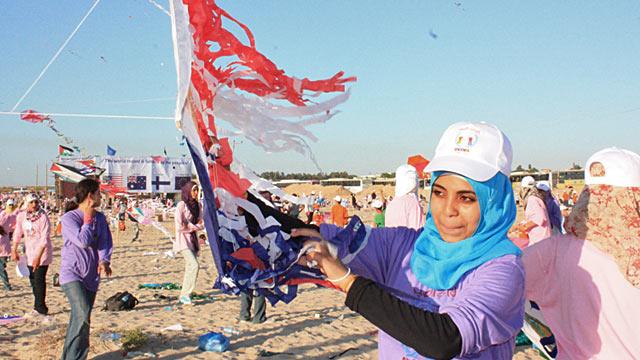 PHOTO:Gaza kites
