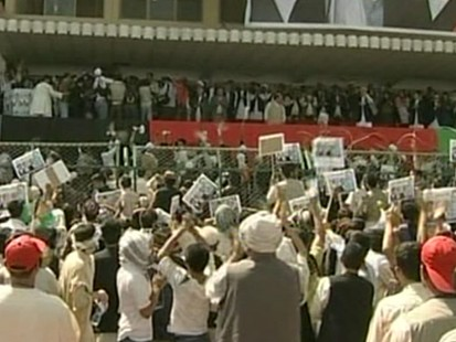 VIDEO: Afghanistan is on high alert on election eve.