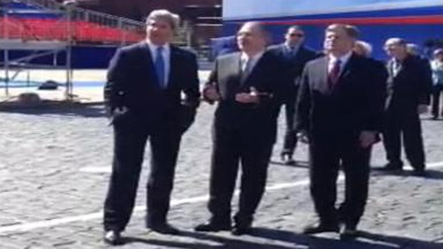 VIDEO: ABC News Dana Hughes travels with the U.S. secretary of state in Russia.