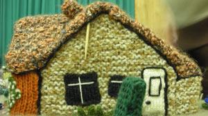 Knitted village of Mersham, England