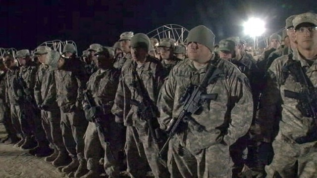 VIDEO: Fewer than 10,000 American troops remain in Iraq as withdrawal deadline comes.