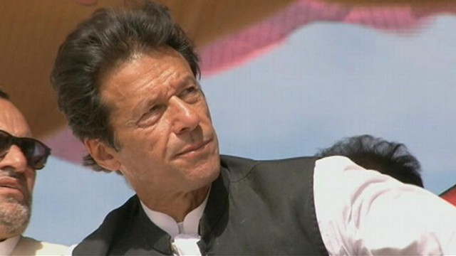 VIDEO: Imran Khan, the charismatic politician and former cricket player, draws large crowds at political rallies.