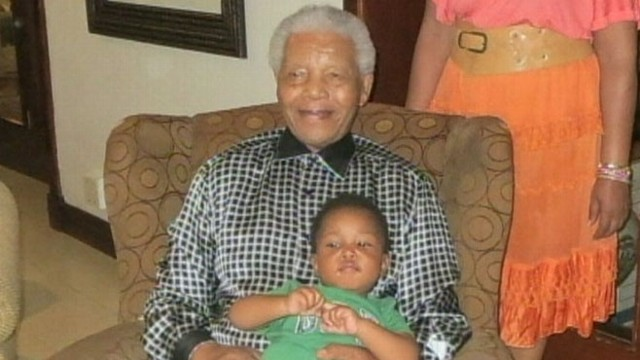 VIDEO: Granddaughters say former president of South Africa is doing well after being hospitalized.