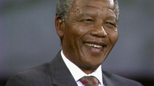 PHOTO: Nelson Mandela became South Africas first democratically elected president.