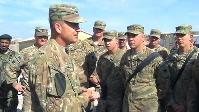 PHOTO: Oklahomas 45th Brigade has particularly faced a tough fight in east-central Afghanistan.