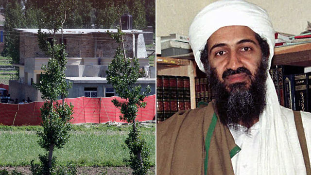 PHOTO: The house where it is believed al-Qaida leader Osama bin Laden, shown in this file photo, lived in Abbottabad, Pakistan, is shown May 2, 2011.