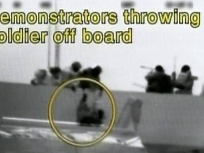 Video: Deadly Israel commando raid caught on tape.