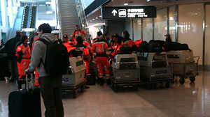 PHOTO Swiss Search and Rescue Team Delayed