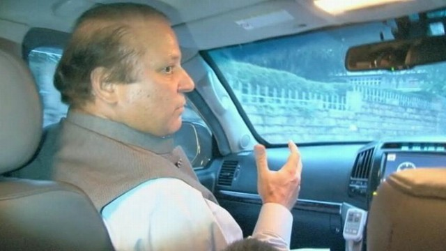 VIDEO: Pakistans former prime minister was jailed as part of a military coup in 1999.