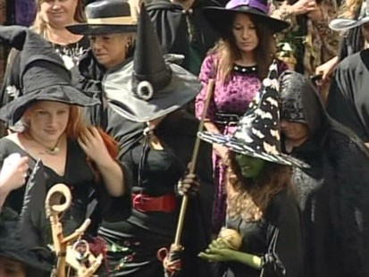 Video: 500 witches try out for dream job.