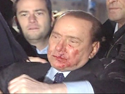 VIDEO: Italian Prime Minister Assaulted at Rally