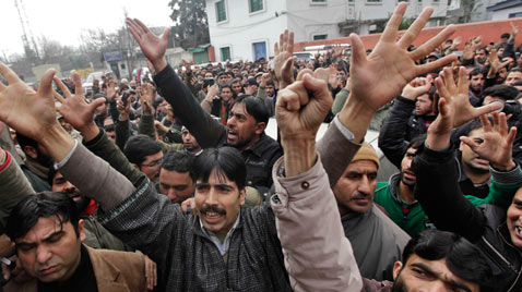 ap India Kashmir Protest ss thg 111220 wblog Today in Pictures: Dec. 20, 2011