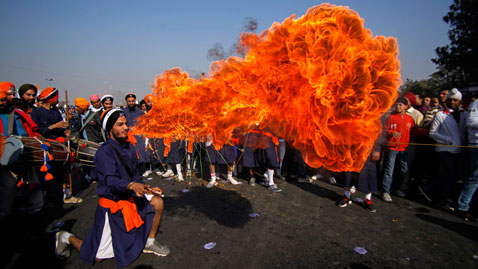 ap India Sikh Festival nt 111229 wblog Today in Pictures: Dec. 29, 2011