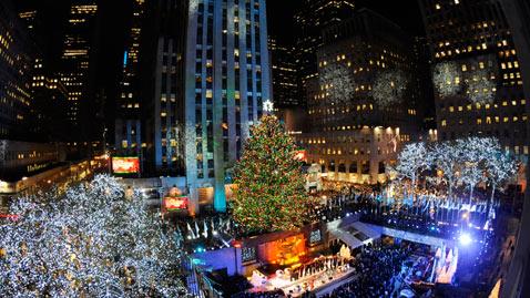 ap Rockefeller tree lighting nt 111201 wblog Today in Pictures: Dec. 1, 2011