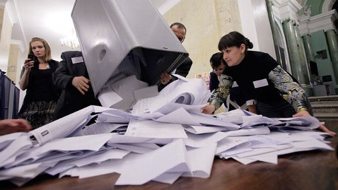 ap Russia Election jt 111204 wblog Election Results Show Cracks in Putin Popularity 