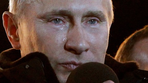 ap Russia Election vladimir putin jt 120304 wblog Putin Wins Russian Election, Cries During Acceptance Speech