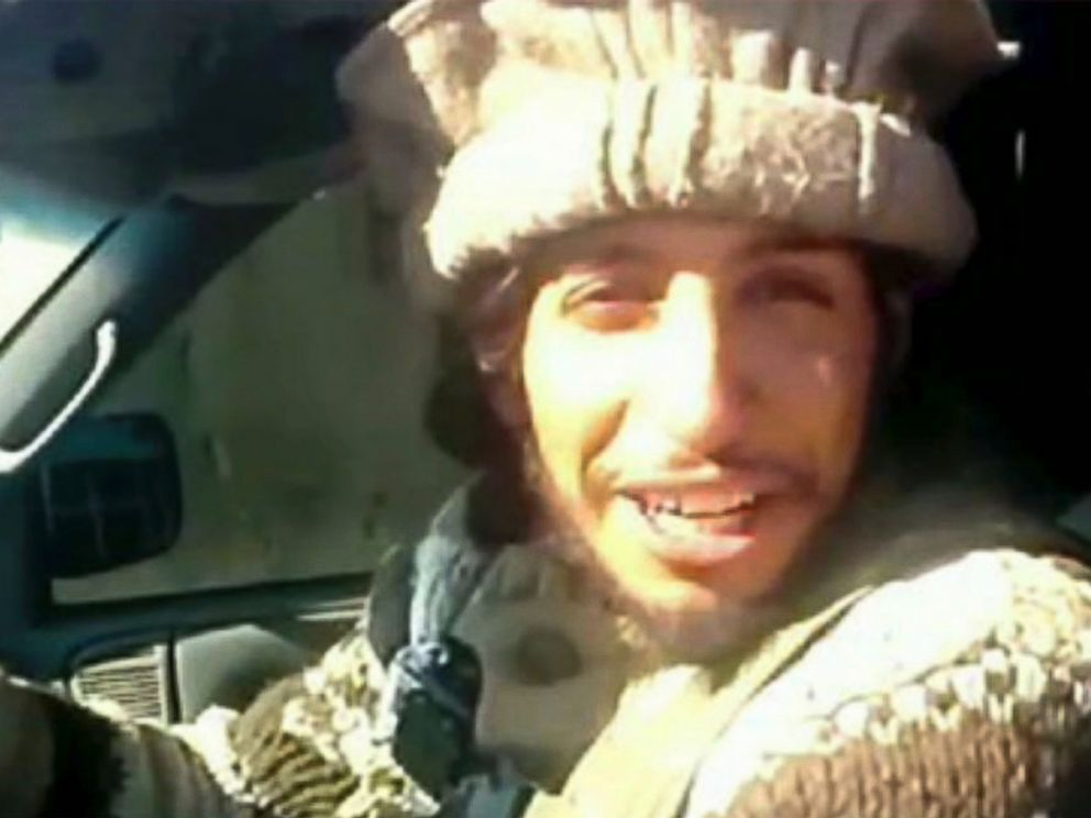 PHOTO: This undated image taken from a Militant Website on Monday, Nov.16, 2015, shows Belgian Abdelhamid Abaaoud.
