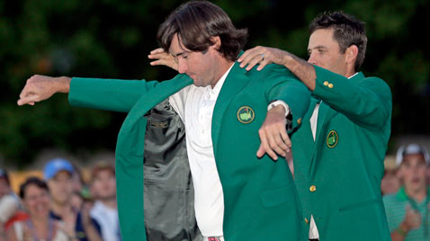 ap augusta masters golf ss thg 120409 wblog Today in Pictures: Easter, Passover, Starch, Augusta Masters and Camels
