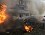Two explosions rock Iranian Embassy in Beirut.