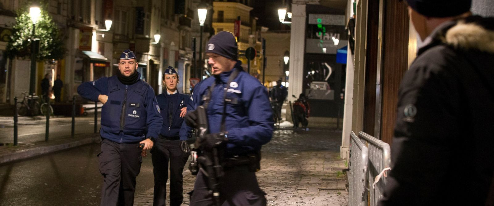 Belgian Police Arrest 16 in Terror Raids