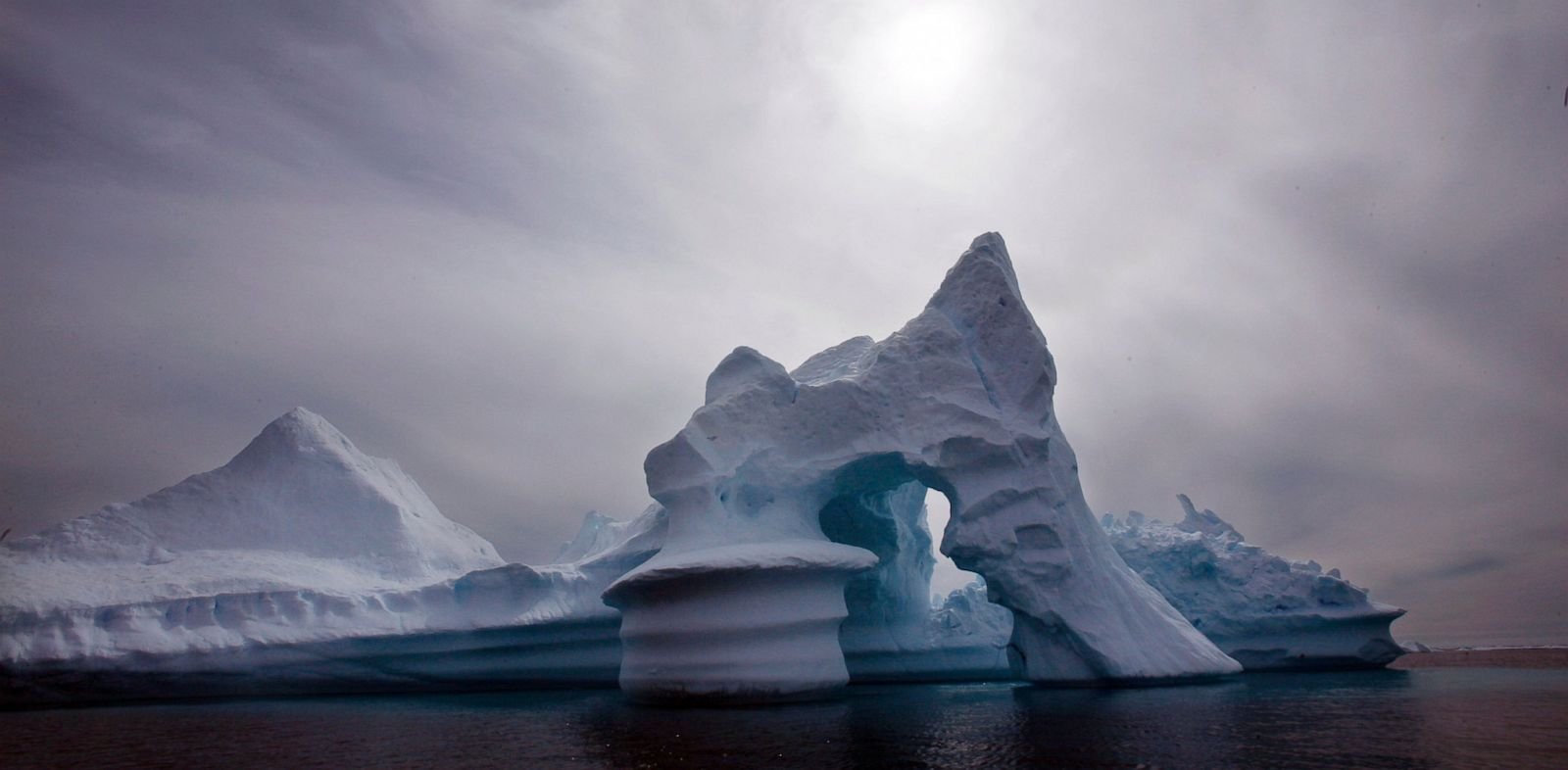 PHOTO: In this July 19, 2007 file photo an iceberg melts off Ammassalik Island in Eastern Greenland.