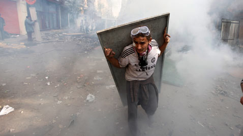 ap egypt riot tear gas thg 111123 wblog Today in Pictures: Nov. 23, 2011