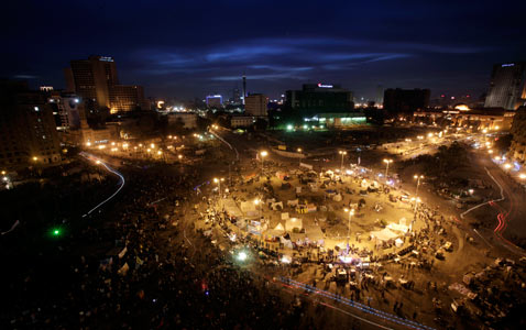 ap egypt tahrir square nt 120203 wblog Pictures of the Day: Egypt Protests, Soul Train, Lantern Festival