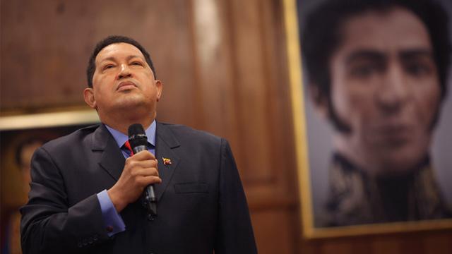 PHOTO: Hugo Chavez