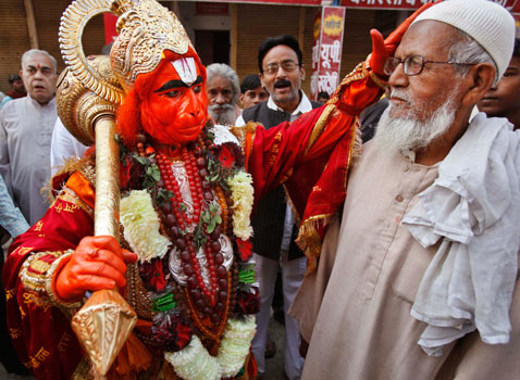 ap india hindu festival god thg 121112 wblog Today In Pictures: Nov. 12, 2012
