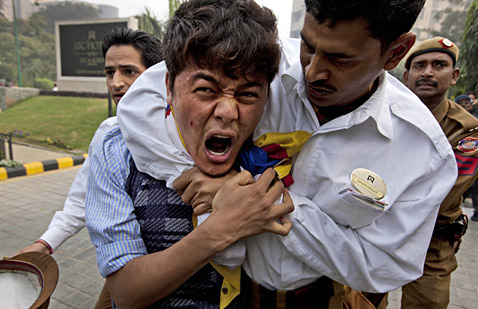 ap india tibetan protest 4249430 ll 111209 wblog Today In Pictures: Dec. 9, 2011