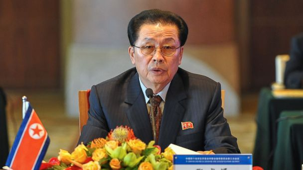 PHOTO: In this Aug. 14, 2012 file photo provided by Chinas Xinhua News Agency, Jang Song Thaek, North Koreas vice chairman of the powerful National Defense Commission, attends a meeting on developing the economic zones in North Korea, in Beijing.