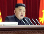 PHOTO: North Korean leader Kim Jong Un gives a speech during a plenary meeting of the central committee of the ruling Workers Party in Pyongyang, North Korea, March 31, 2013.