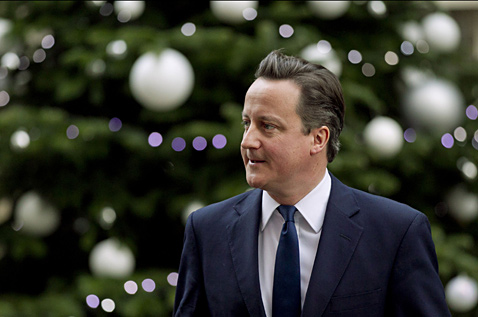 ap london david cameron 5071710 ll 111207 wblog Today In Pictures: Dec. 7, 2011