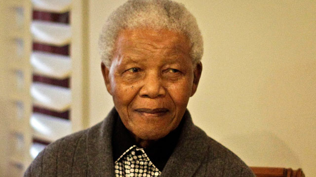 PHOTO: Former South African President Nelson Mandela during the celebration of his 94th birthday in Qunu, South Africa July 18, 2012.