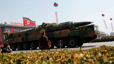 ap north korea missile lpl 130404 wblog Situation Normal for Foreign Diplomats in N. Korea