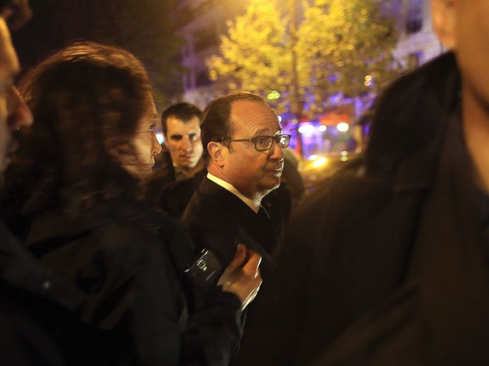 Paris Attacks: French President Hollande Calls on Country to Be 'Strong'