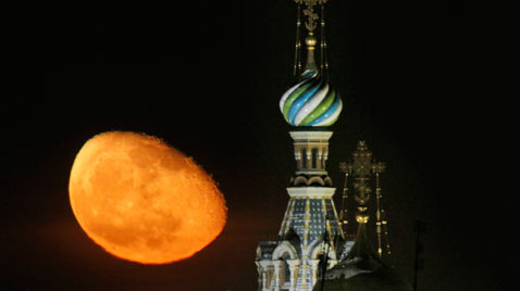 ap russian moon ss thg 120213 wblog Today in Pictures: Snow Monkeys, Athens Clashes, Westminster Dogs, and The Grammys