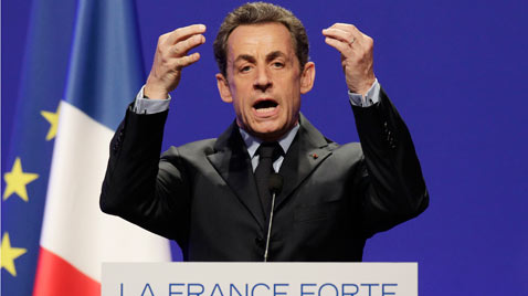 ap sarkoszy france thg 120402 wblog Today in Pictures: Hindu Goddess festival, Damien Hirst, MyanMar Cheer, Bieber Slimed and The Pope