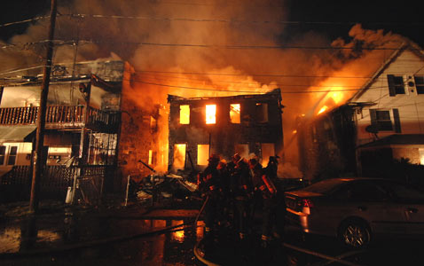 ap scranton fire nt 120321 wblog Pictures of the Day: Toulouse Funerals, Pennsylvania Fire, Protest for Trayvon Martin