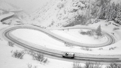 ap switzerland weather dm 111222 Today In Pictures: Dec. 22, 2011