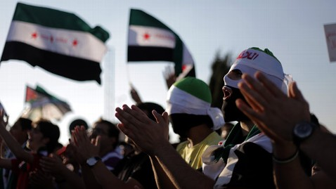 ap syria protest jt 120630 wblog As World Leaders Talk, Time Is Running Out in Syria